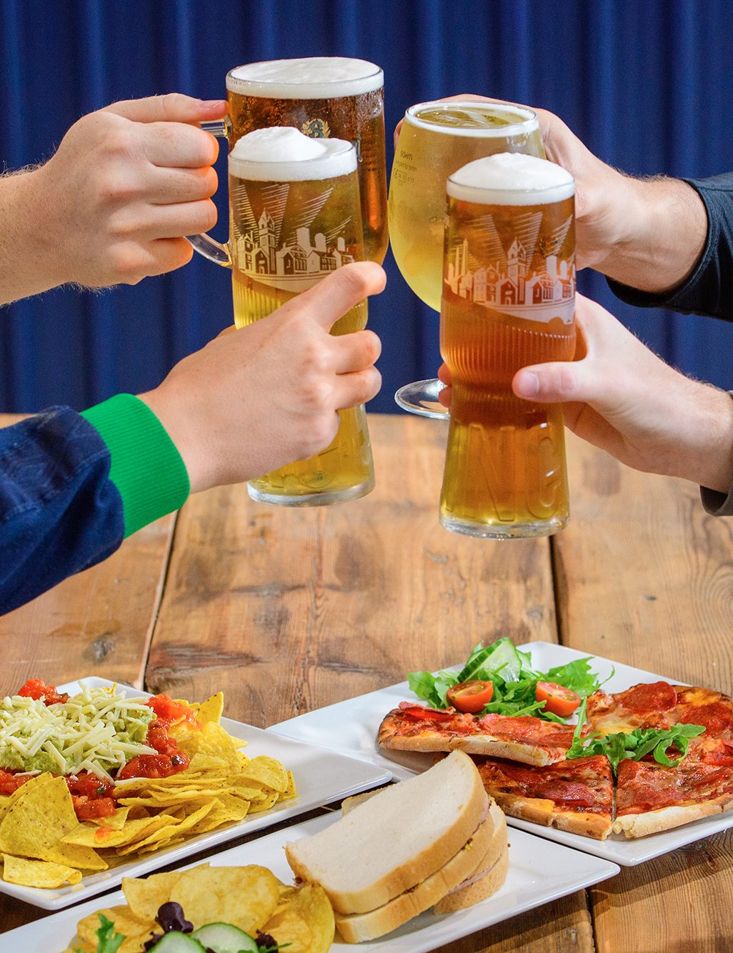 Sports bar - soft drinks, hot drinks & alcohol